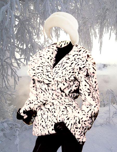 Скачать шаблон для фото мисс зима