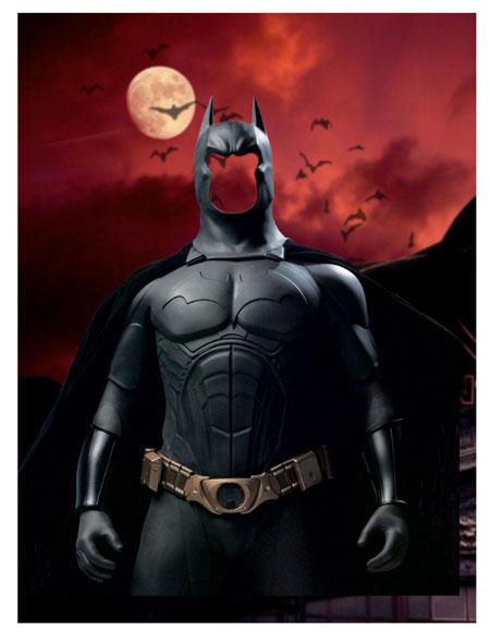 Скачать шаблон для фото бэтмен